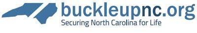 BuckleUpNC white logo